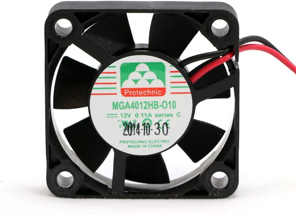 5 pcs package 40mm x 10mm fan ball bearing for 12V 3D printer replacement fan or 5V Raspberry Pi