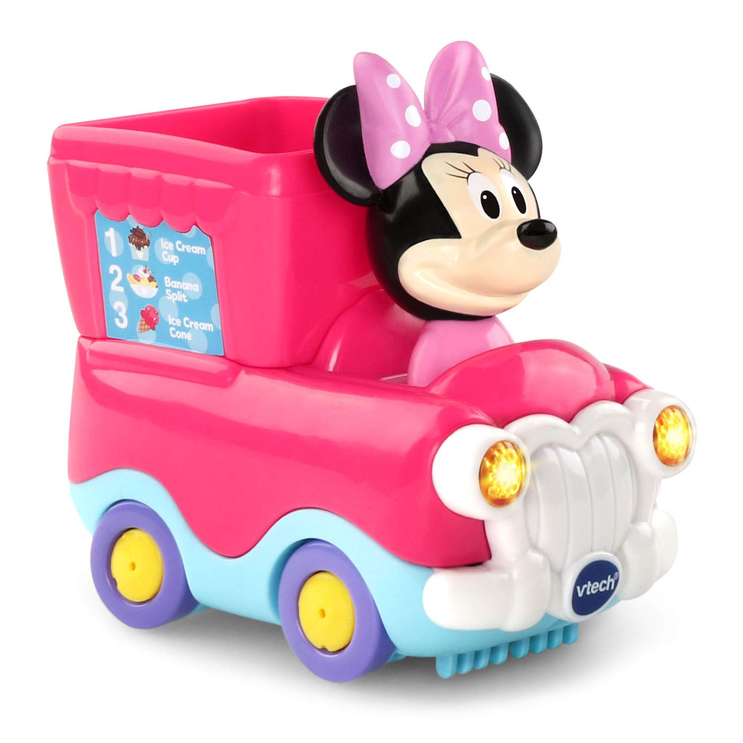 VTech Go! Go! Smart Wheels Minnie Mouse Ice Cream Parlor by VTech (Image #2)