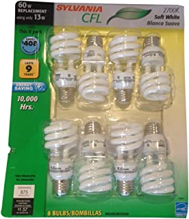 Sylvania CF13EL CFL Soft White Light Bulb