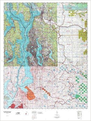 WA GMU 454 Issaquah Hunt Area / Game Management Units (GMU) Map ...