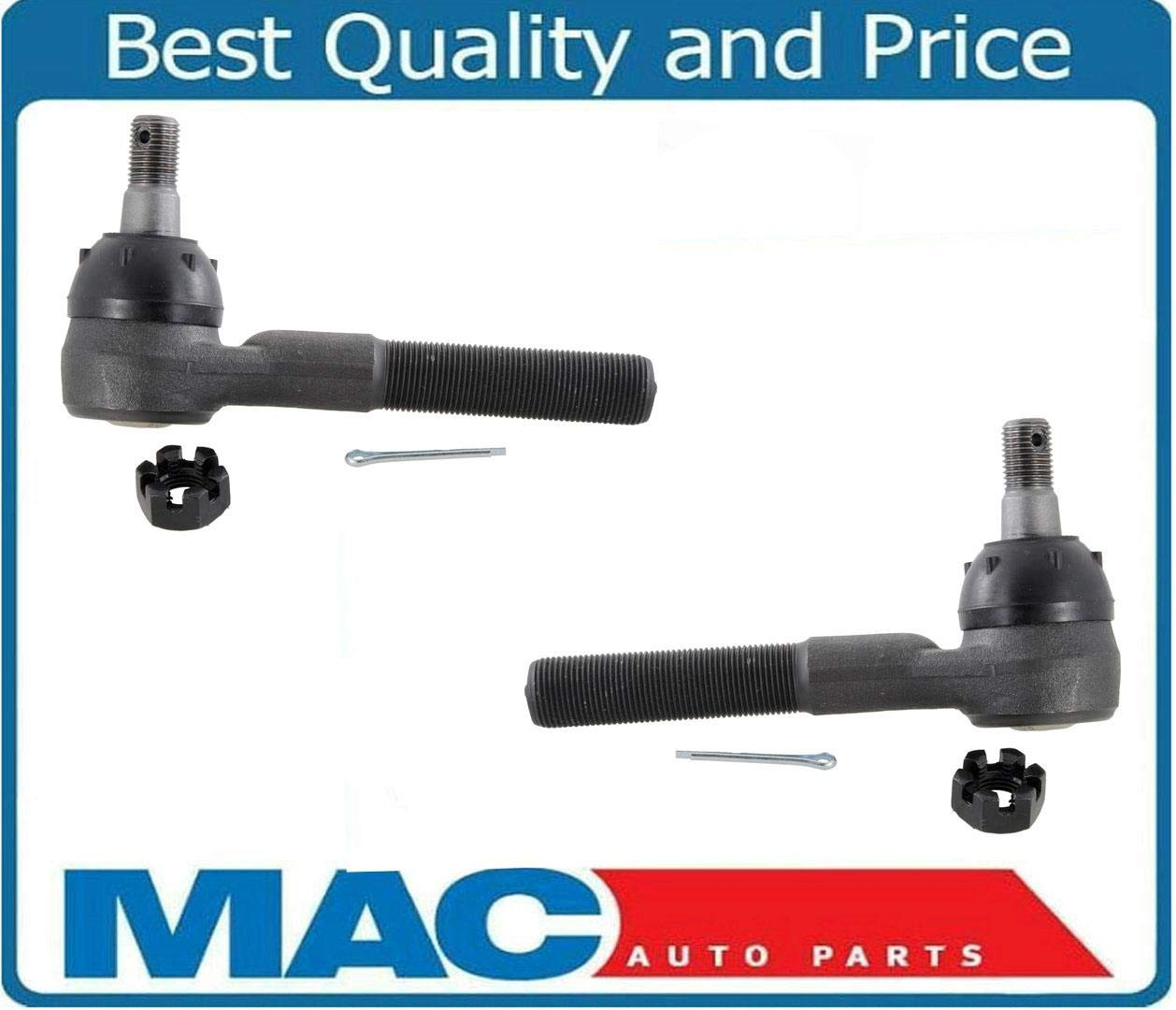 Mac Auto Parts 21879 Ranger F0 F250 F350 2 Outer Tie Rod Rods Ends REF# ES77RT ES78LT 1Pr