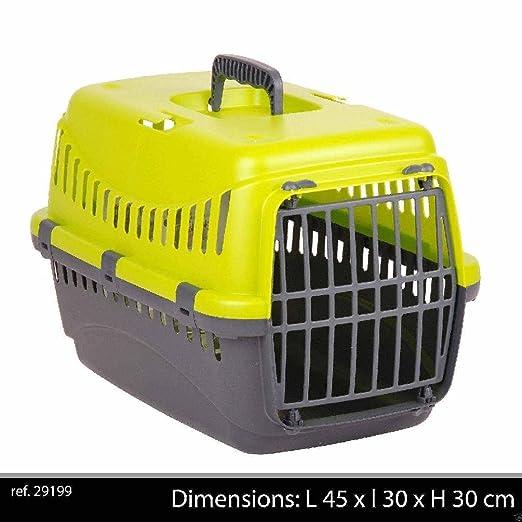 ponze plástico Pet Carrier para gato perro conejo caja de viaje ...