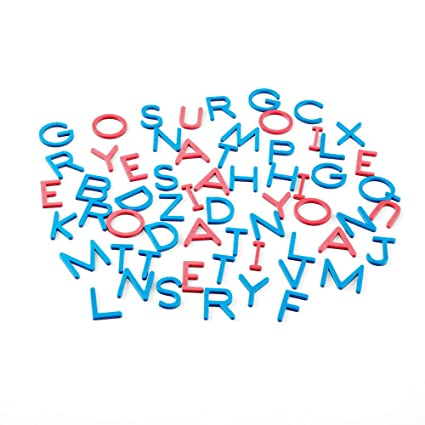Set of 120 hand2mind Magnetic Foam Uppercase and Lowercase Letters of The Alphabet
