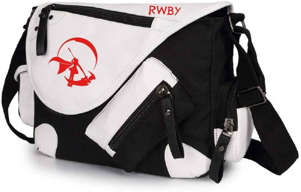 Siawasey Anime RWBY Cosplay Ruby Rose Messenger Bag Crossbody Handbag Satchel Backpack Shoulder Bag