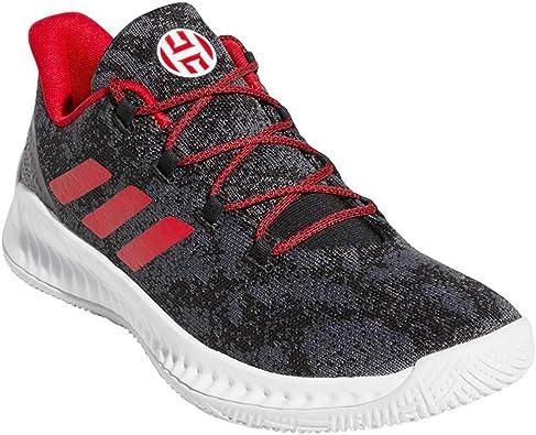 adidas Men's Harden B E X Basketball Core BlackScarletGrey