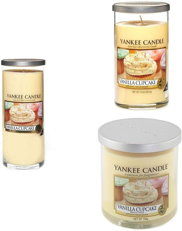 Yankee Candle bougie petite colonne /«/G/âteau /à la vanille//» jaune