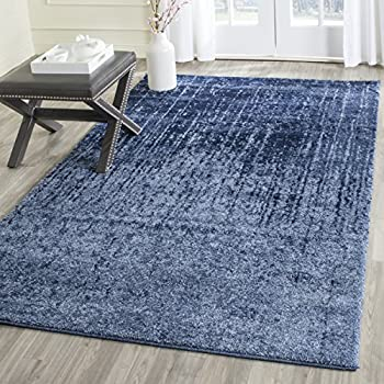 Safavieh Retro Collection RET2770 6065 Modern Abstract Light Blue And Blue  Area Rug (5