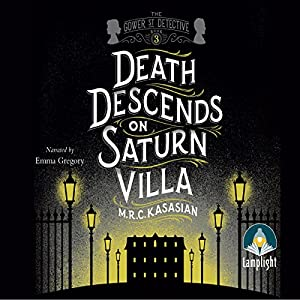 Death Descends on Saturn Villa Audiobook