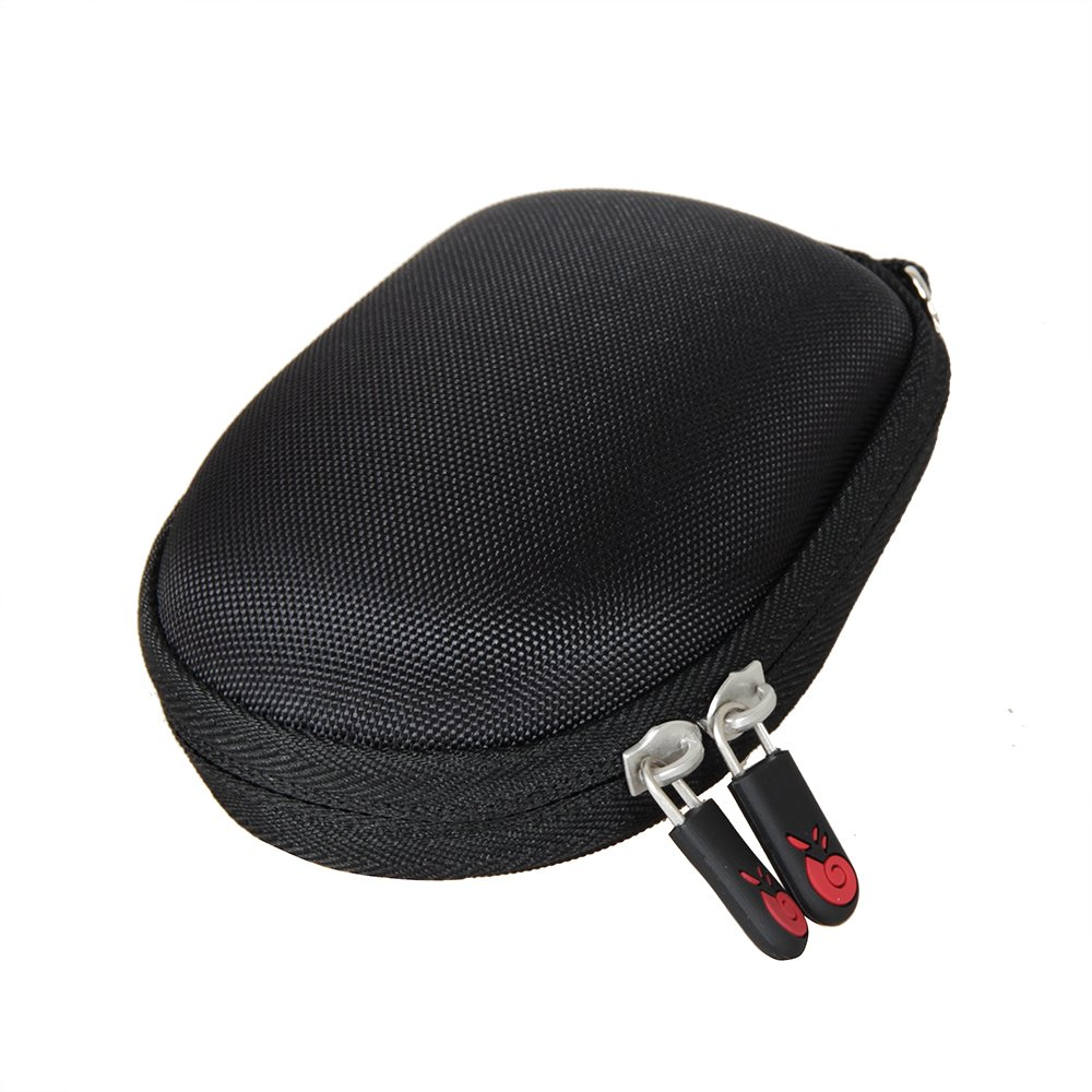 For Logitech Wireless Mobile Mouse M185 M186 Travel EVA Hard Protective Case Carrying Pouch Cover Bag by Hermitshell