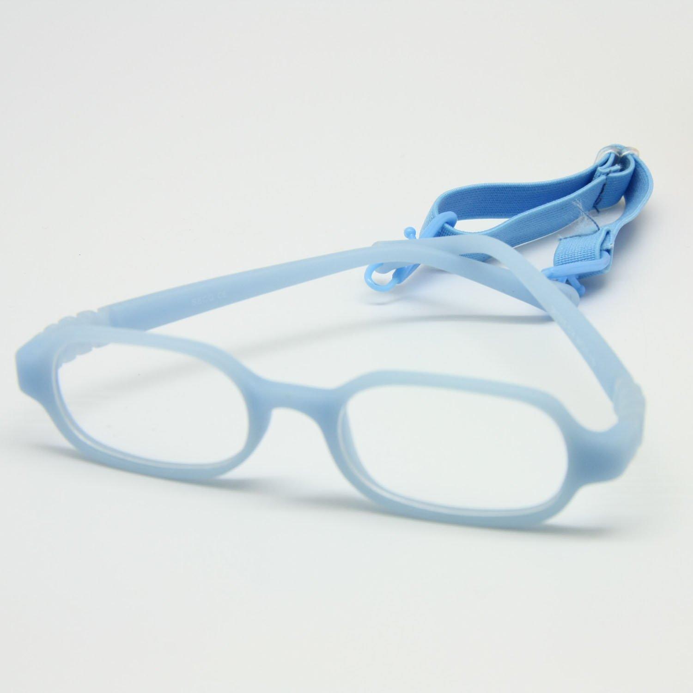 EnzoDate die Mädchen und Jungen der optische Gläser mit Gurt No Screw, ein Stück von Kinder Brille, Größe 39/15 Größe 39/15