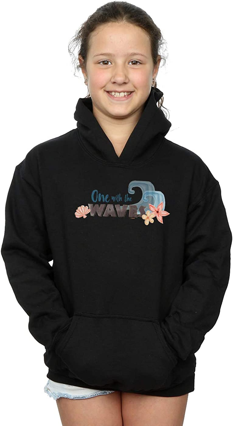 Disney Girls Moana One with The Waves Hoodie