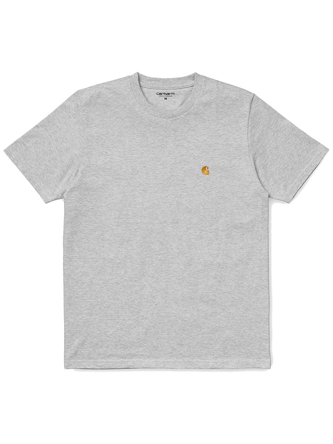 CARHARTT WIP - Crew-neck T-shirts - Men - Mottled White and Ecru Chase Round-Neck T-Shirt for men