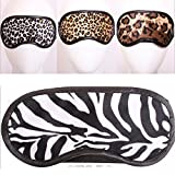 4 Animal Print Sleeping Eye Mask Blindfold Shade Travel Sleep Aid Cover Rest Nap by ATB