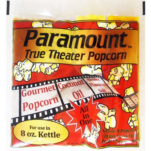 (8oz Popcorn Packets - Perfect Portion Packs For 8 oz Popcorn Maker Machine Popper - Case of 24)