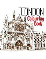London Colouring Book: for Adults & Children