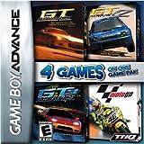 Racing GBA 4 Pack: GT Advance Championship Racing, GT Advance 2 Rally Racing, GT Advance 3 Pro Concept Racing, and Moto GP
