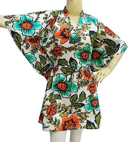 Cotton Caftan Printed Dashiki Dress Summer Dress Short Kaftan Plus Size Gown