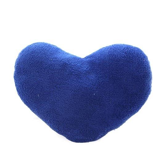 amiley cojín funda de almohada, con forma de corazón funda ...