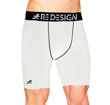 60816413eb Image Unavailable. Image not available for. Colour: Redesign Compression Men's  Shorts Tights ...