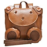 KAXIDY Kids Backpack Animal Baby Boys Girls Kids Bag School Bags Kindergarten Schoolbag (Brown)(Size: small)