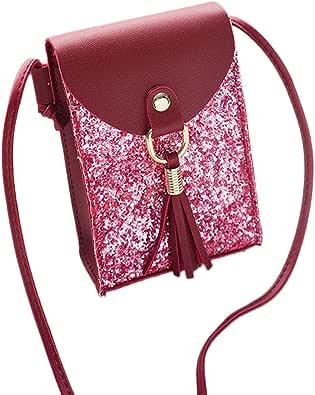 Sencillo Vida- A23 Bolsos desigual Bandolera de Mujer Bolso de mano fiesta mujer mochila de Viaje Shoulder Bag Handbag para Escuela Trabajo