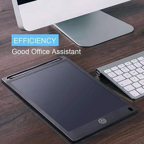 デッサン ポータブル手書きタブレット10インチライティングボード描画デジタル手書きパッド電子グラフィックボード 練習用 (Color : Black, Size : One size)