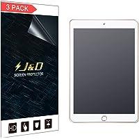 Protector de visualización mate para iPad de 9,7 pulgadas, 2018, J&D [antideslumbramiento] [antihuellas] [sin cobertura completa] Protector de visualización mate de alta calidad para Apple iPad de 9,7 pulgadas (versión en 2018), 3 Packs