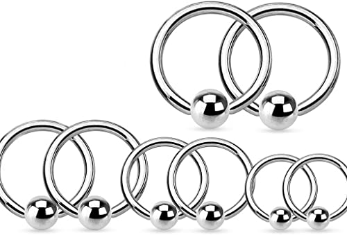 Amazon Com Lobal Domination 4 Pair Value Pack 316l Surgical Steel