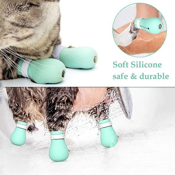 Amazon.com: ASOCEA 4 piezas de zapatos de silicona ...