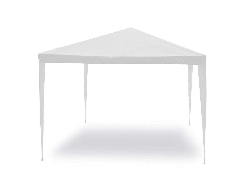 Gazebo facile bianco 3x3 m Struttura in acciaio copertura in pe. 110 gr/m². Biacchi G1617002