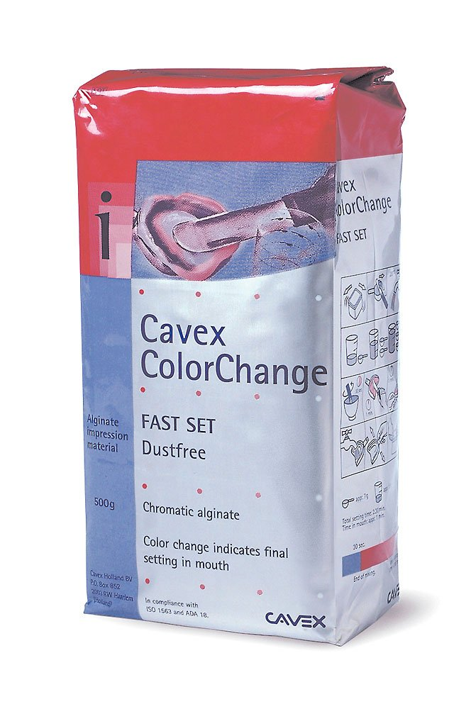 Practicon-7085610 Cavex ColorChange Alginate , 500 Grams