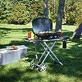 Napoleon TravelQ 285 Portable Propane Grill with Scissor Cart
