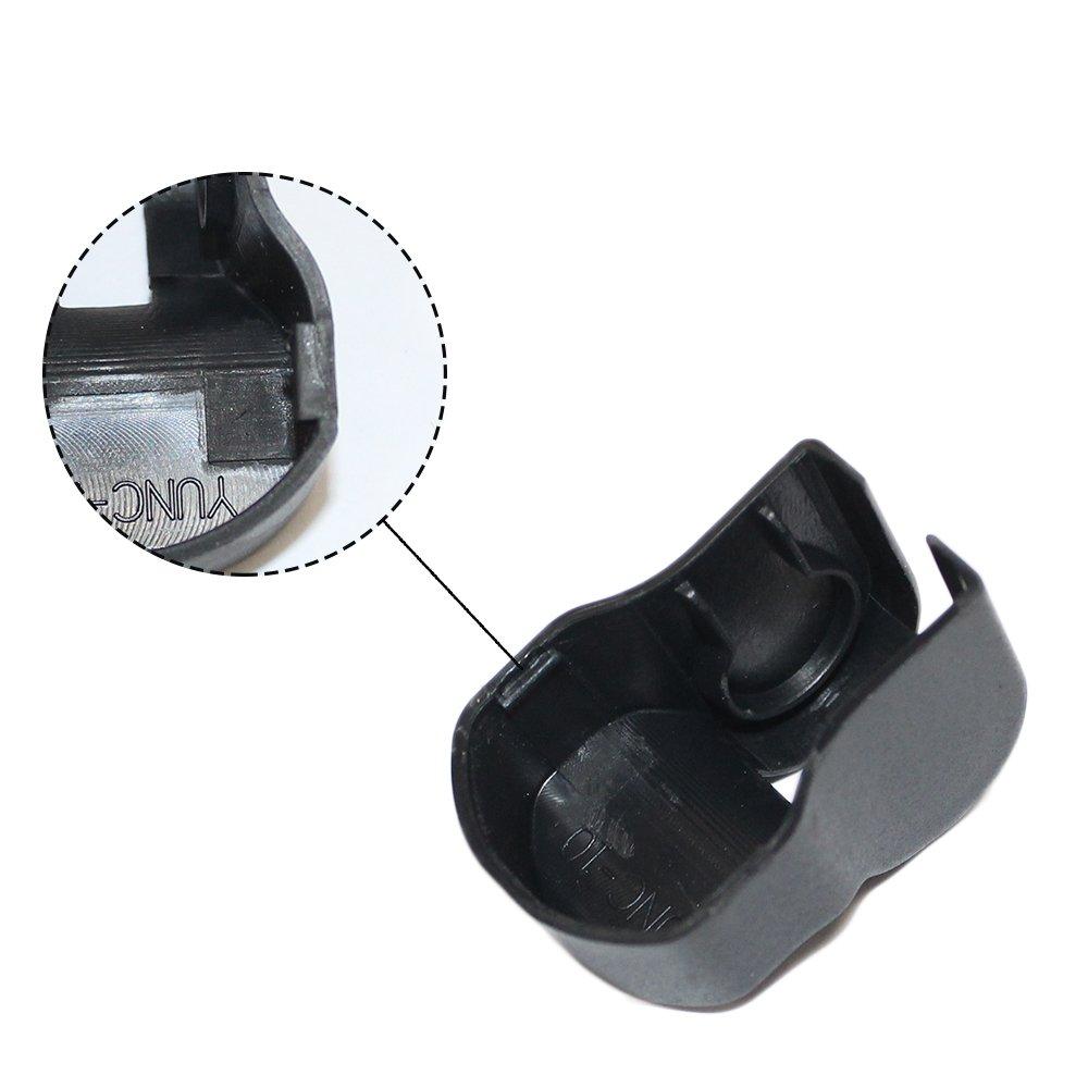 SHUNAN-EU Auto T/ürfangband Besch/ützer T/ürstopper Abdeckung F/ür Corolla Prius RAV4 Camry Reiz Venza Auto-Styling T/ürfeststeller Schutzabdeckung 4Pcs