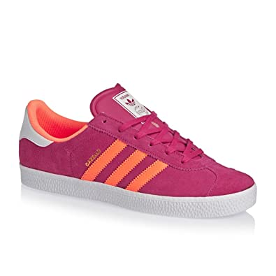 free shipping d6883 462bf adidas Gazelle 2 – Childrens Sports Shoes Pink Size 4.5