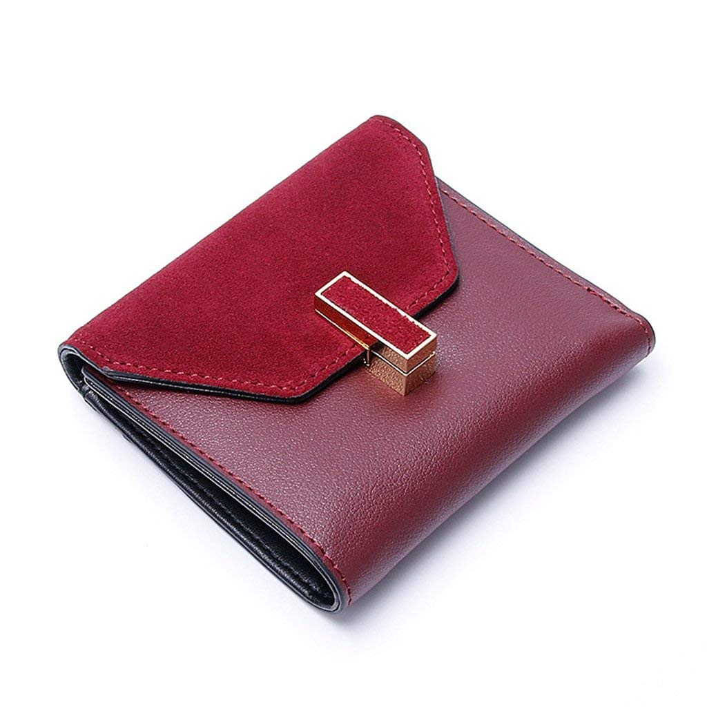 2 Cross Women's Leather Wallets RFID Blocking Vintage Design Large Capacity for Work (color    1)