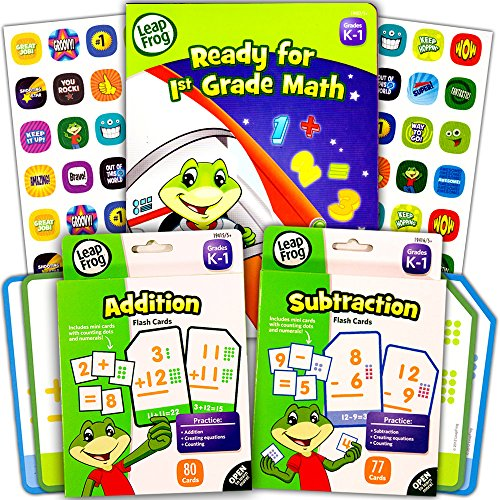 LeapFrog Math Workbook Addition Subtraction