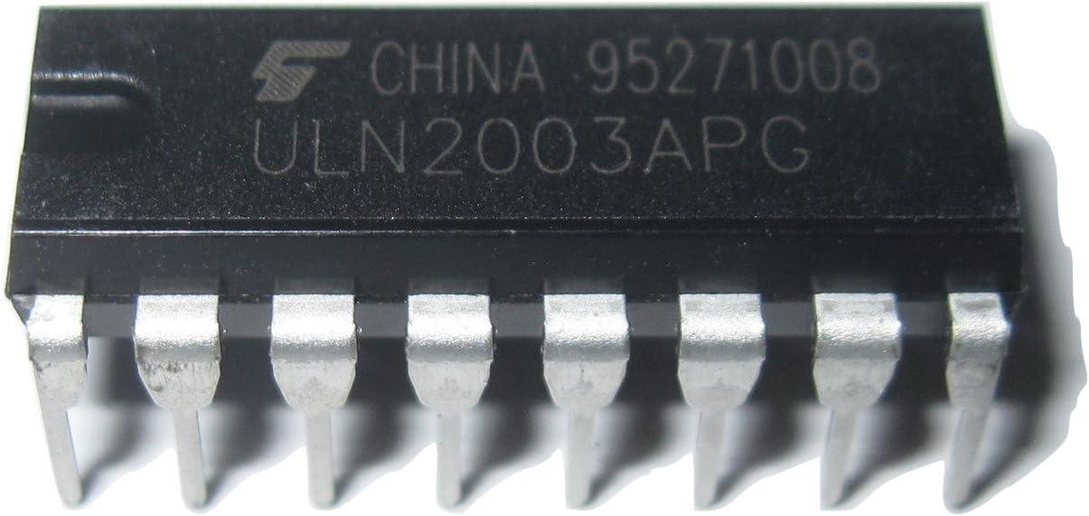 by Tech Express 10Pcs ULN2003AN 7 Darlington Pairs 50V 500ma per channel
