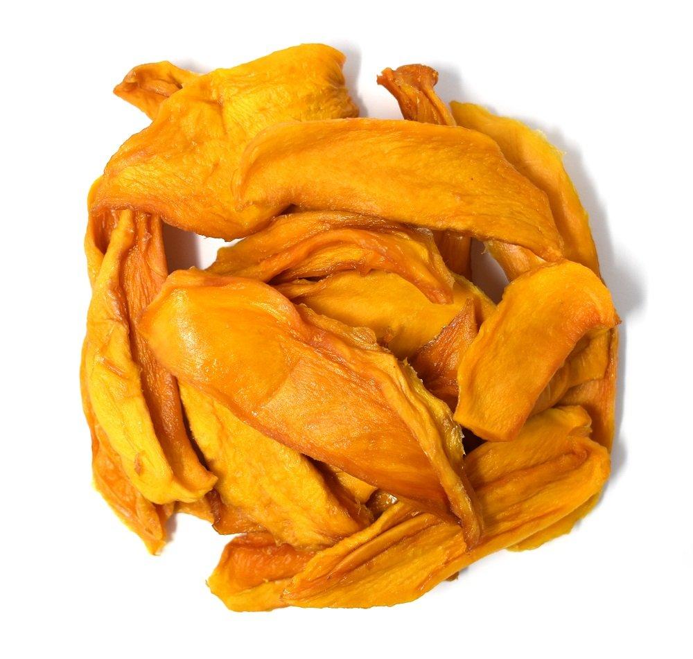 Anna and Sarah Organic Dried Mango 1 Lb, No Sugar Added Natural Snacks