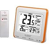 La Crosse Technology WS6811 Station de températures Intérieure/Extérieure -Orange et Blanc