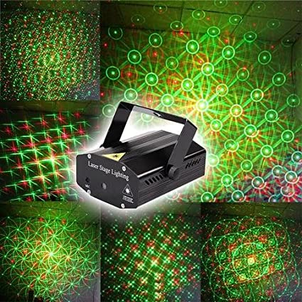 for dj party projector show light dance laser disco stage product mini lighting decoration from green red christmas lights