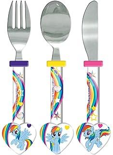 My Little Pony Cutlery Set, 3 Piece, Knife/Fork/Spoon, Multi