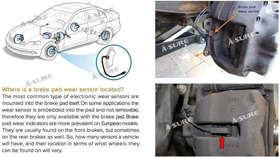 NEW Front Brake Pad Wear Sensor 34356783230 fits 07-10 MINI Cooper R55 R56 R57