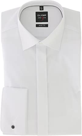 Olymp niveles Five Body Fit Gala Camisa Manga Larga popelina