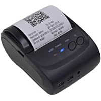 Sanbee Impresora Termica Portatil Mini Bluetooth USB, para Tickets y Recibos POS PDV, 58mm, Inalámbrica, Compatible con Windows, iOS, Android