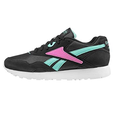 cca5402a5ec Reebok Shoes - Rapide Og Su Black Turquoise Pink  Amazon.co.uk ...