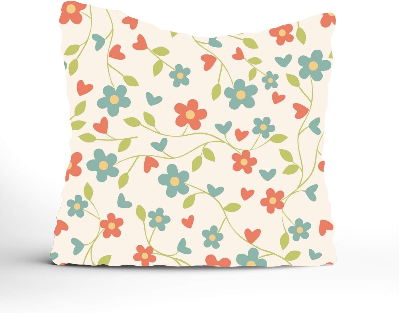 Cushion Cover Pillow Case Cotton Linen