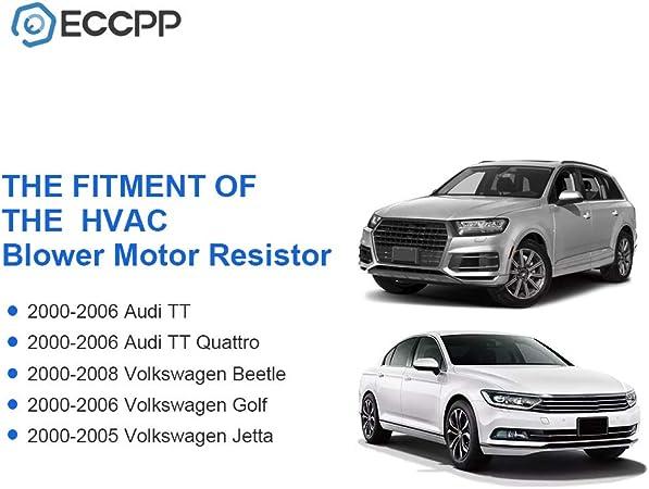 VW PASSAT AUDI A4 A6 AUXILIARY A//C HEATER FAN BLOWER MOTOR RESISTOR REGULATOR