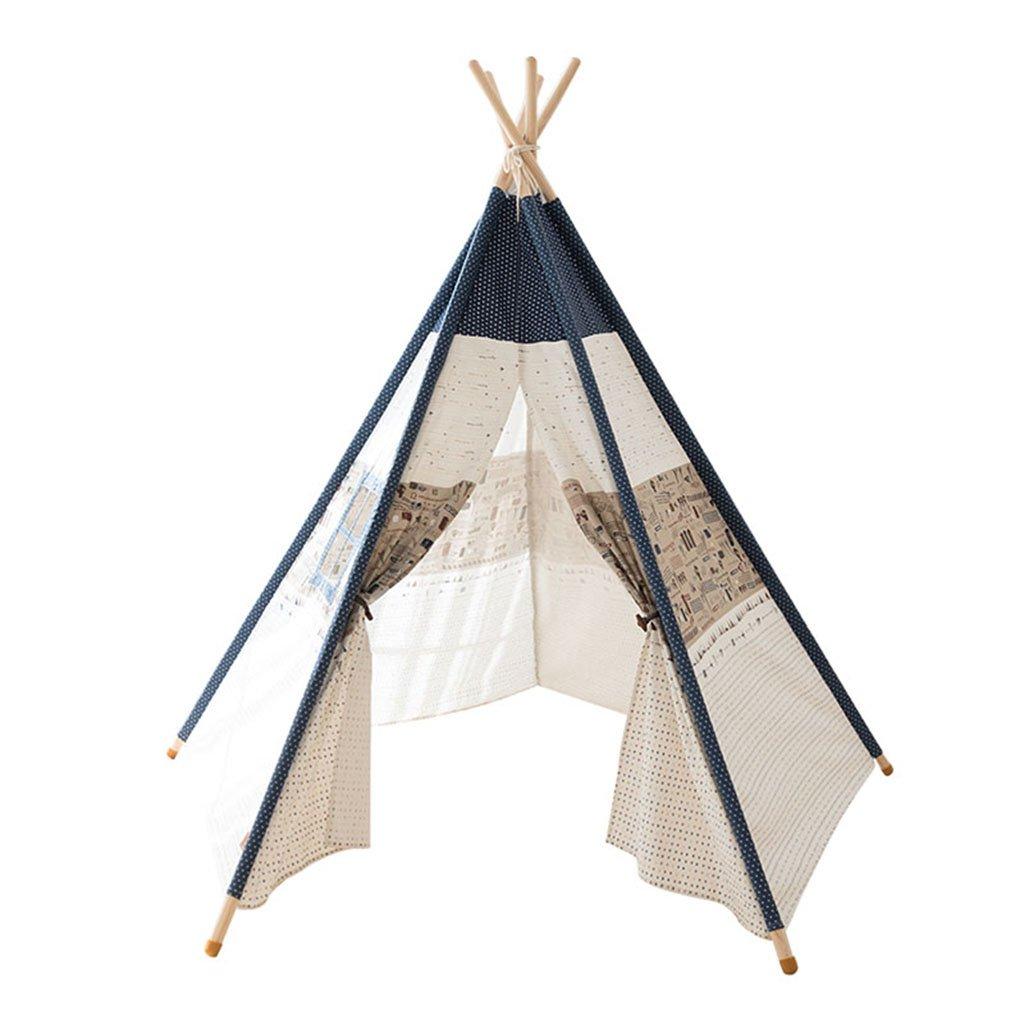 子供の部屋のテント、室内のベッドルームの居間おもちゃの部屋の城の男の子、女の子ベビープレイハウス家庭用ゲームハウス105 * 160 * 160CM (色 : A) B07DX2B3K2 A