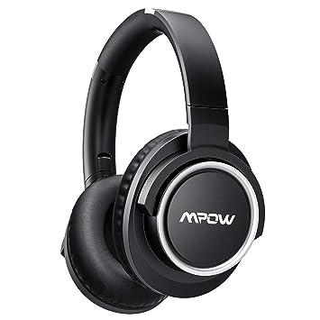 Mpow [Actualizado] ANC Auriculares Bluetooth con Acitvo Cancelación de Ruido, Over-Ear