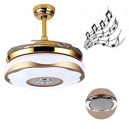 LED Modern Acryl Bluetooth Musical Ceiling Fan.LED Lamp.LED ...